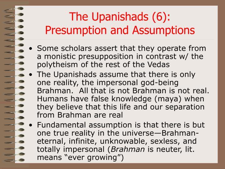 The Upanishads (6):