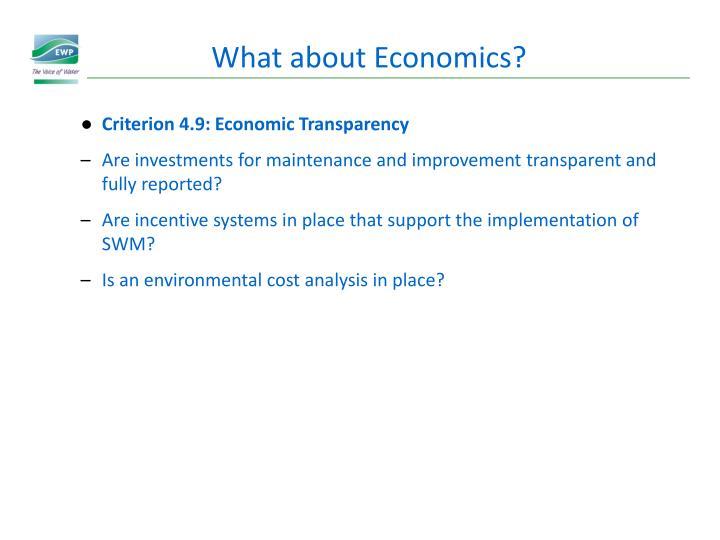 What about Economics?