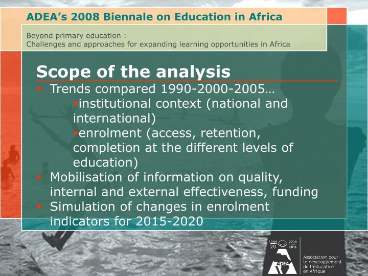 ADEA's 2008 Biennale on Education in Africa