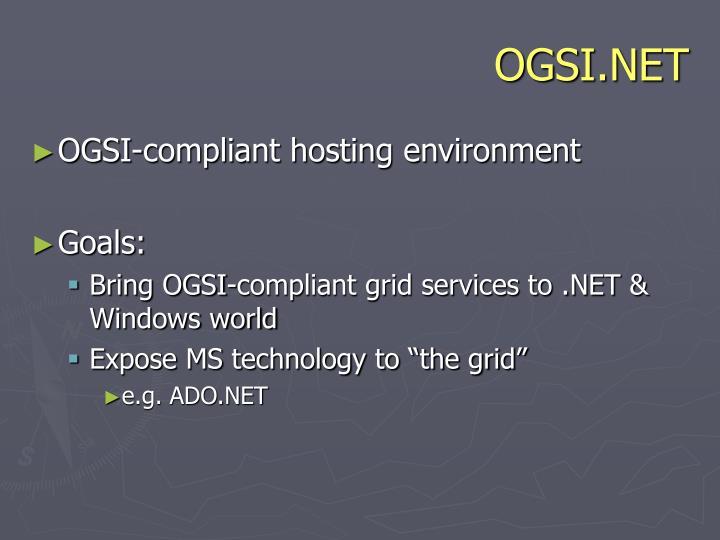 OGSI.NET