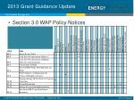 2013 grant guidance update4