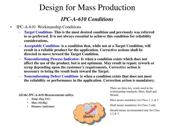 IPC-A-610 Conditions