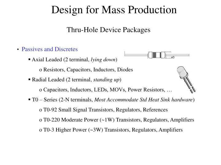 Thru-Hole Device Packages