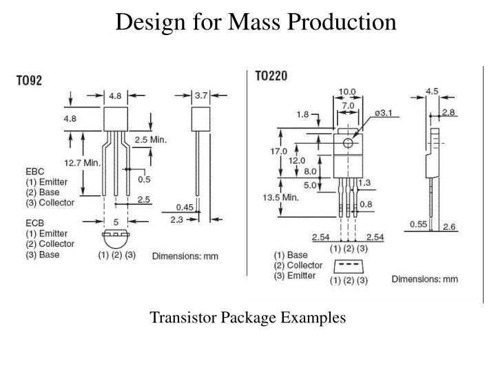 Transistor Package Examples