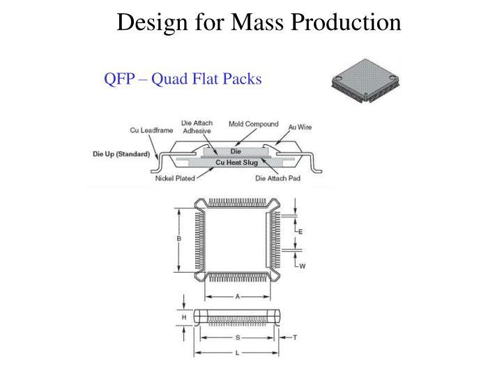 QFP – Quad Flat Packs