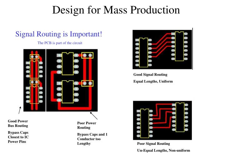 Signal Routing is Important!
