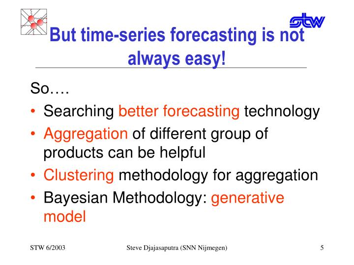 But time-series forecasting is not always easy!
