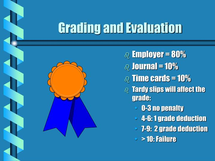 Grading and Evaluation