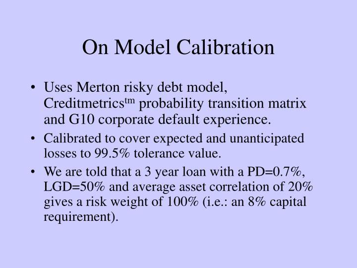 On Model Calibration