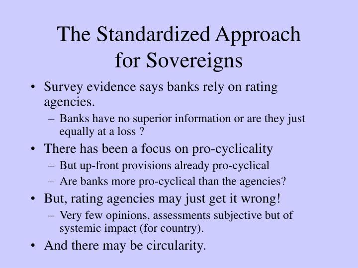 The Standardized Approach