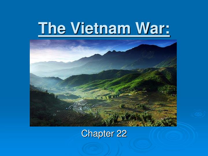 the vietnam war n.