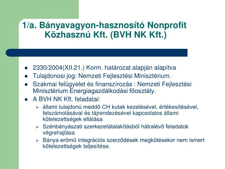 1 a b nyavagyon hasznos t nonprofit k zhaszn kft bvh nk kft