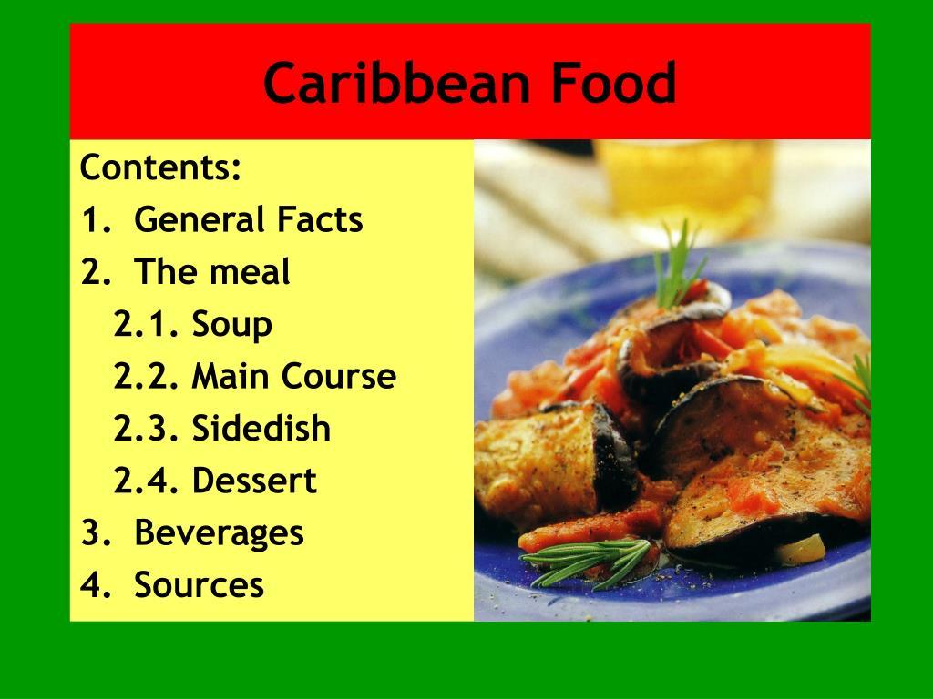 ppt caribbean food powerpoint presentation id 3404053