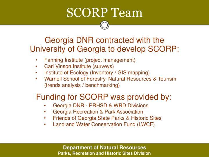 SCORP Team