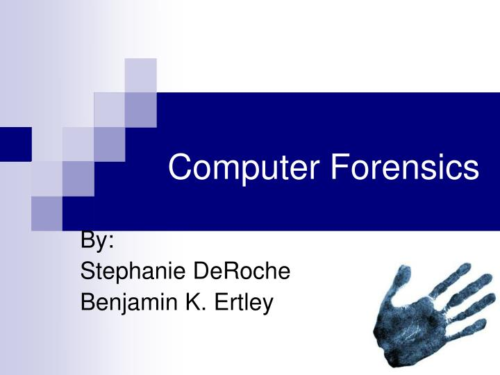 computer forensics n.