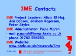 3me contacts