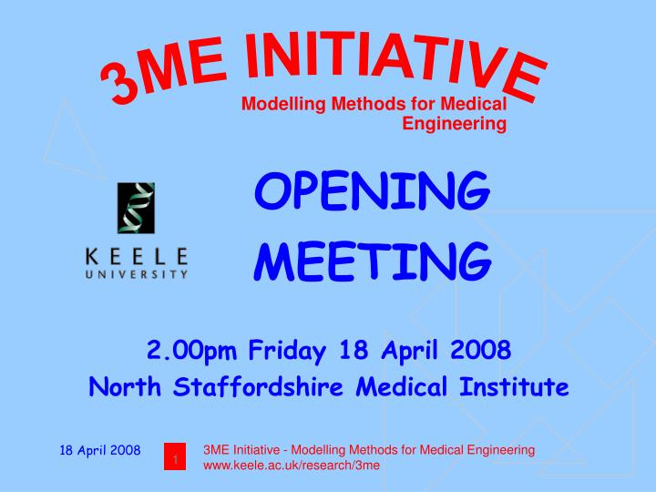 modelling methods for medical engineering n.