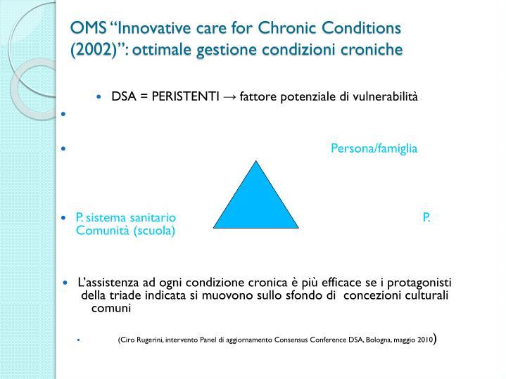 "OMS ""Innovative care"