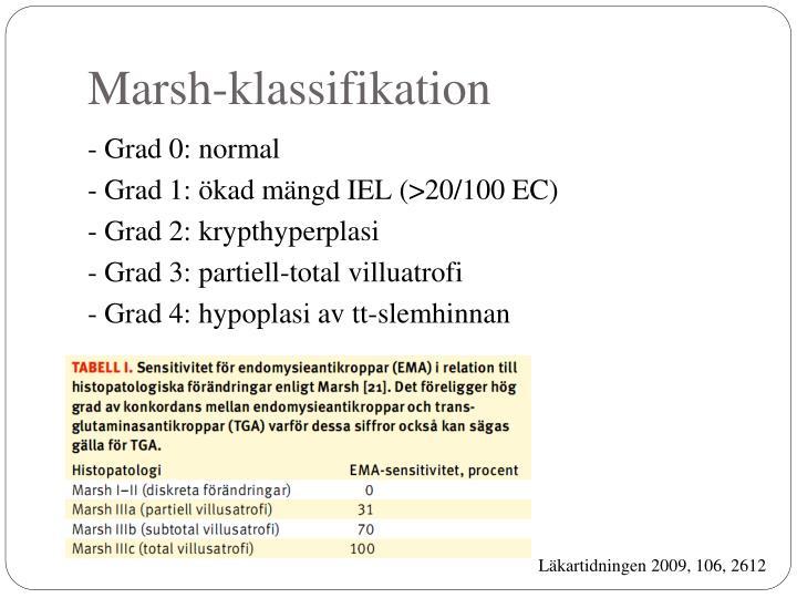Marsh-klassifikation