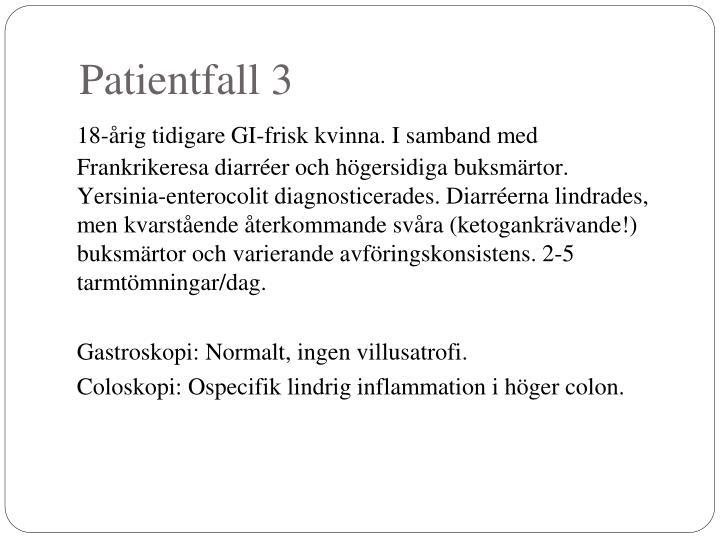 Patientfall 3