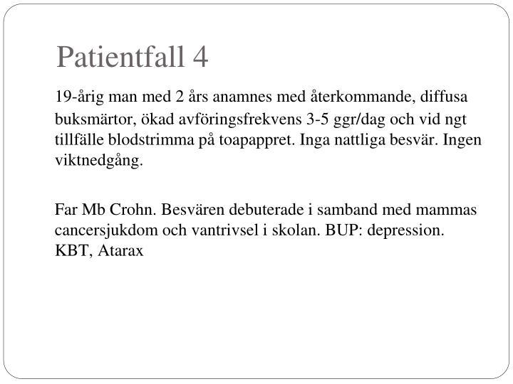 Patientfall 4