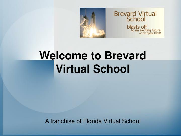 Welcome to brevard virtual school