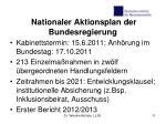 nationaler aktionsplan der bundesregierung