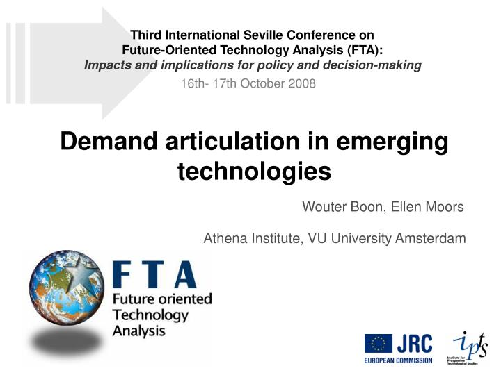 Third International Seville Conference on
