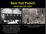 beer hall putsch november 8 9 1923