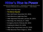 hitler s rise to power1