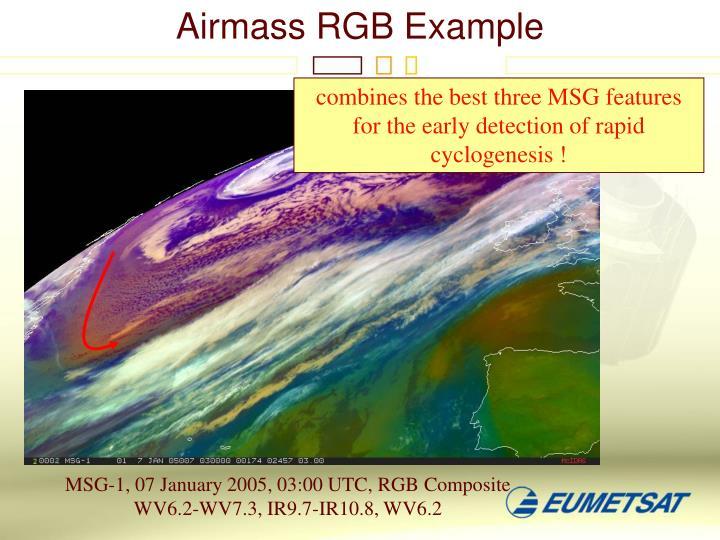 Airmass RGB Example