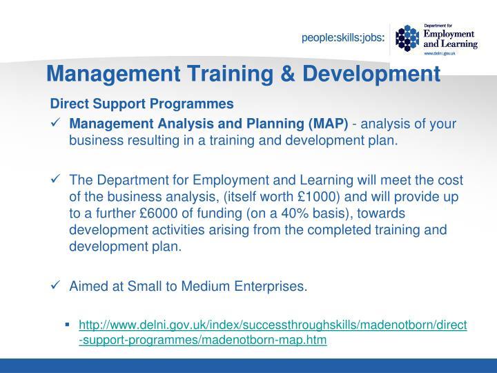 Management Training & Development