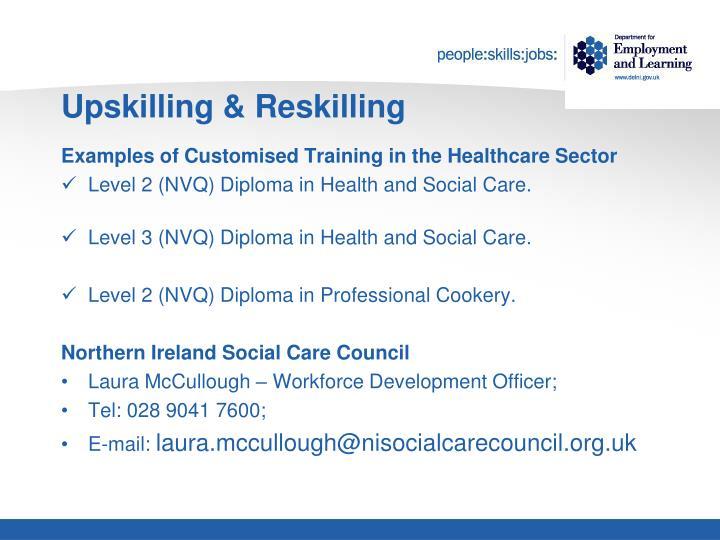 Upskilling & Reskilling