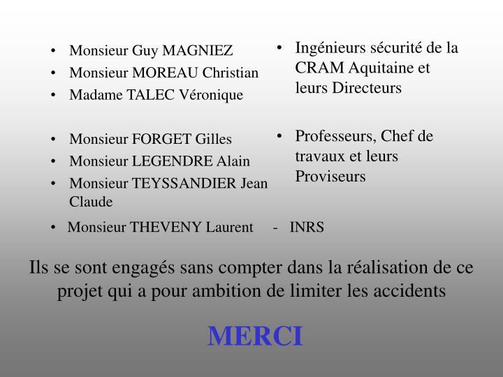 Monsieur Guy MAGNIEZ