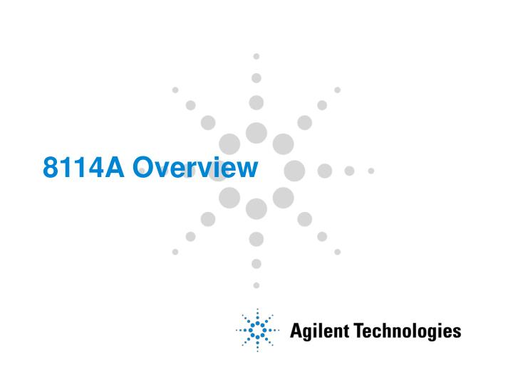 8114a overview