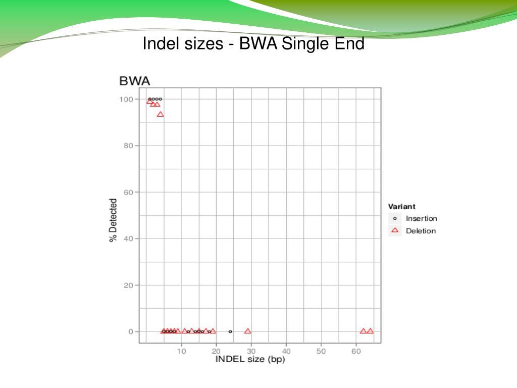 Bwa single end