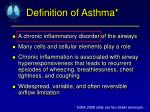 the disease of asthma essay Asthma asthma is the most common chronic disease of childhood this disease affects all age groups, and it can manifest itself throughout childhood, from.