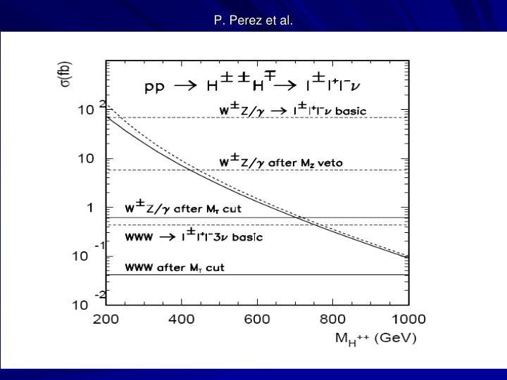 P. Perez et al.