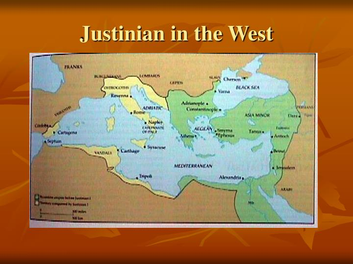 Justinian in the West