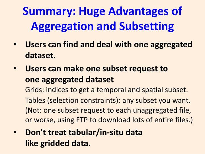 Summary: Huge Advantages of