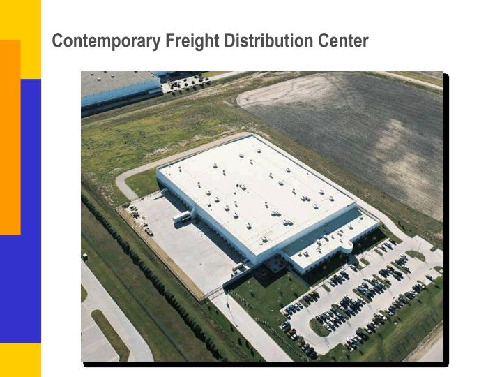 Contemporary Freight Distribution Center