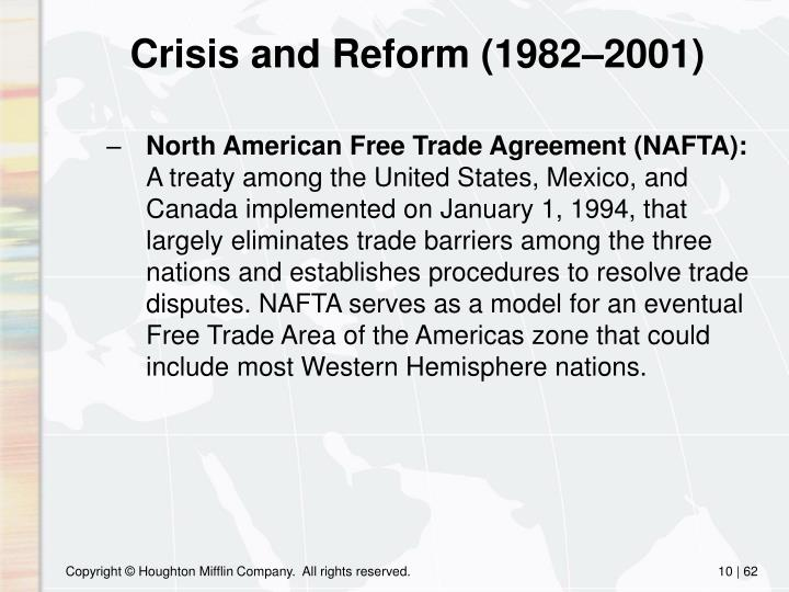 Crisis and Reform (1982–2001)