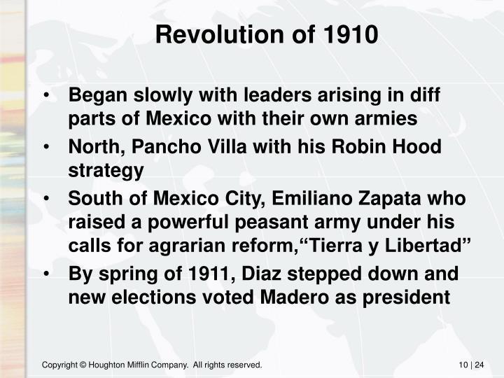 Revolution of 1910