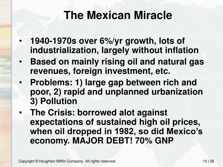 The Mexican Miracle