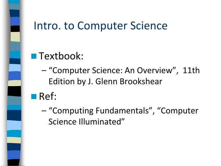 Intro to computer science1