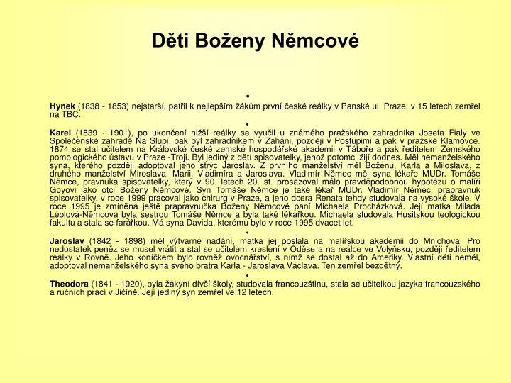 Ppt Bozena Nemcova 1820 1862 Powerpoint Presentation Id 3407311