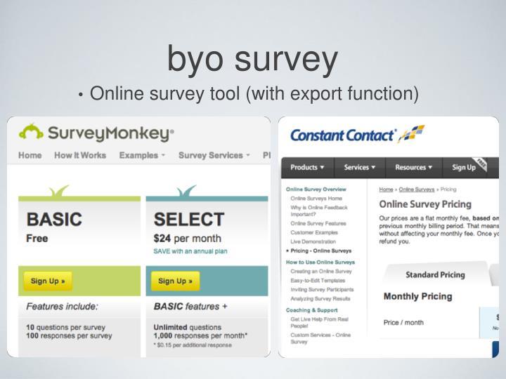 byo survey