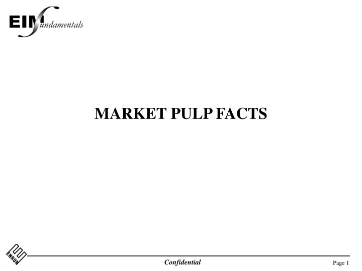 market pulp facts n.