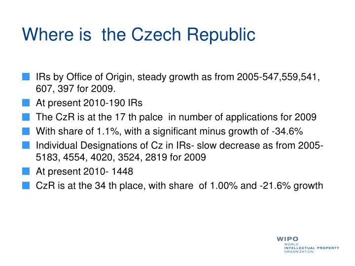 Where is  the Czech Republic