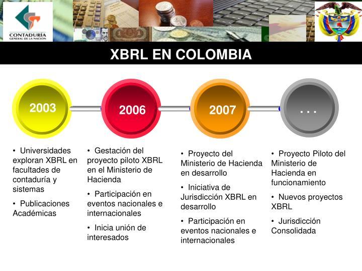 Xbrl en colombia